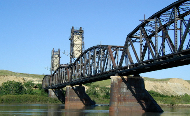 Hi Calvin, I share your love of bridge's architecture. I am a lifelong resident of Hayesville NC but I recently relocated to Western North Dakota and have visited Fairview liftbridge and tunnel and a few more. I am attaching a link for a few.... https://www.visitmt.com/listings/general/landmark/fairview-bridge.html     I know you love first-light pictures sir but ND sunsets are unbelievable. Please consider coming here and adding these pieces of history to your books before they are no more. Thank you for your time and consideration.... Apryl Swanson